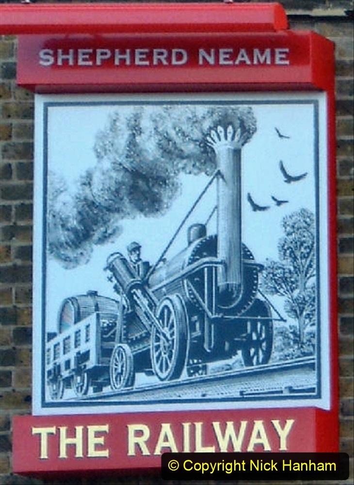 Railway Food. (217) Pub Signs. 217