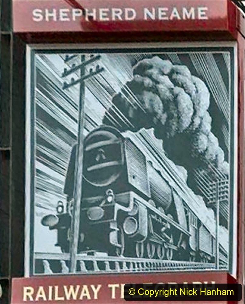 Railway Food. (219) Pub Signs. 219