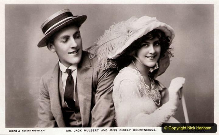 WW2 Stars Jack Hulbert & Cicley Cicely Courtneidge. (16) 125