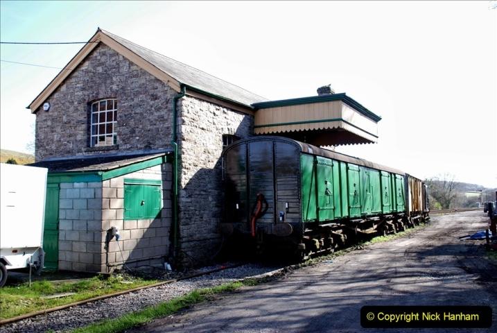 2020-03-23 Covid 19 shuts the Swanage Railway. (105) Corfe Castle. 105