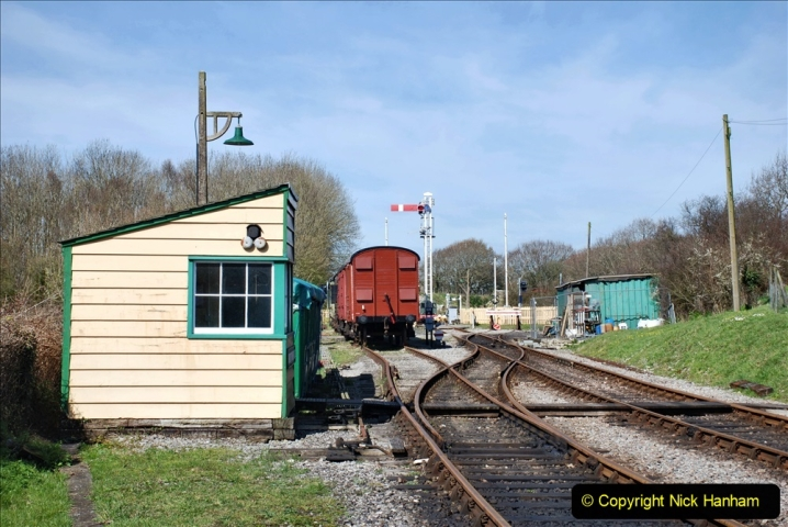 2020-03-23 Covid 19 shuts the Swanage Railway. (106) Norden. 106