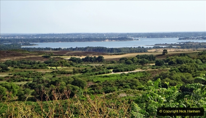 2020-06-23 Swanage Railway still in lockdown. (8) View of Poole from the Purbeck Hills. 008