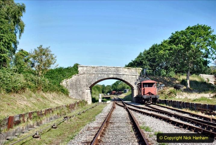 2020-06-23 Swanage Railway still in lockdown. (14) Norden. 014