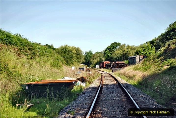 2020-06-23 Swanage Railway still in lockdown. (15) Norden. 015