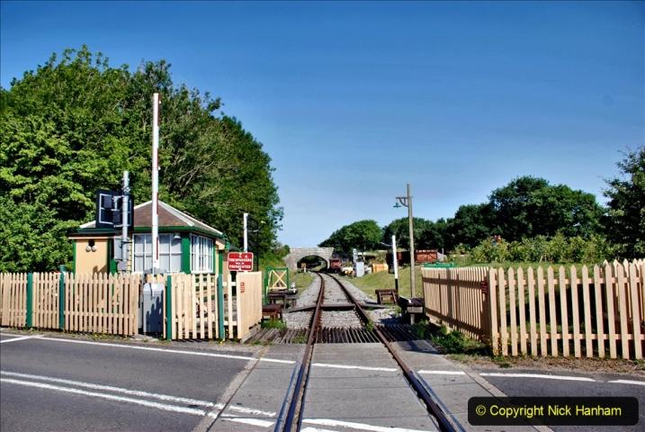 2020-06-23 Swanage Railway still in lockdown. (27) Norden. 027