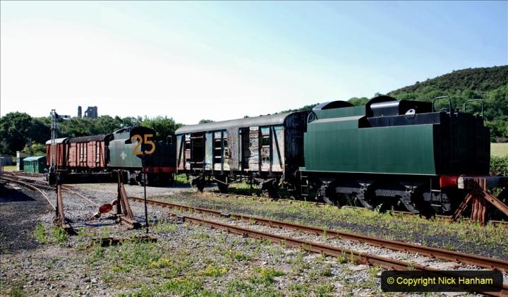 2020-06-23 Swanage Railway still in lockdown. (28) Norden. 028