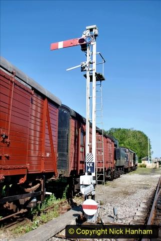 2020-06-23 Swanage Railway still in lockdown. (30) Norden. 030