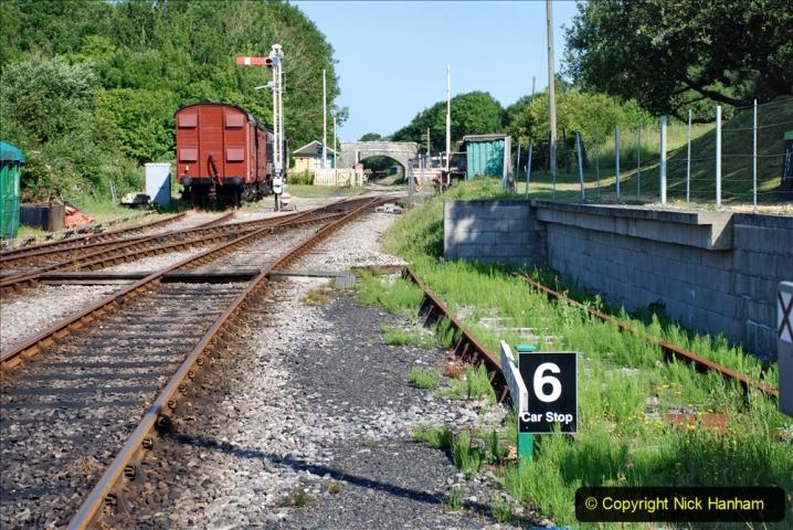 2020-06-23 Swanage Railway still in lockdown. (48) Norden. 048