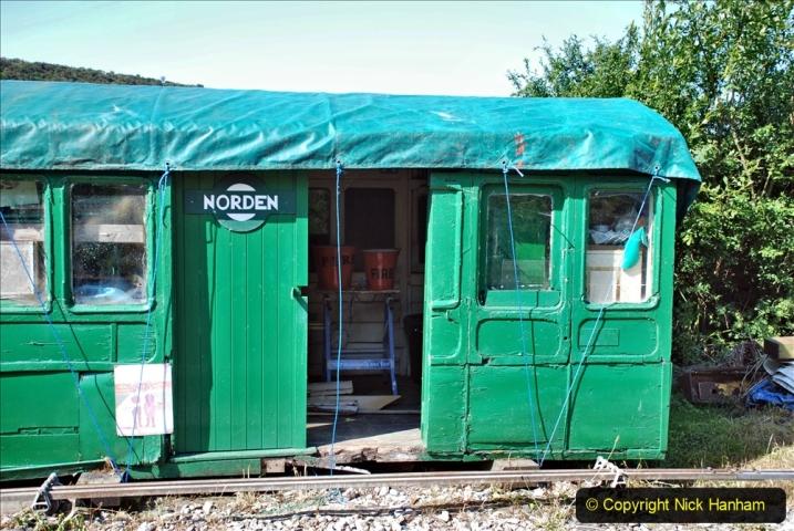 2020-06-23 Swanage Railway still in lockdown. (49) Norden. 049