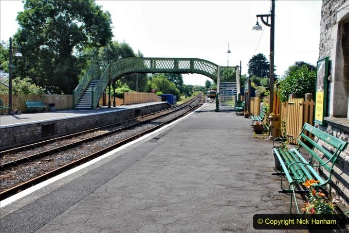 2020-06-23 Swanage Railway still in lockdown. (62) Corfe Castle. 062