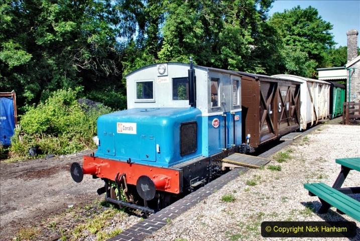 2020-06-23 Swanage Railway still in lockdown. (63) Corfe Castle. 063