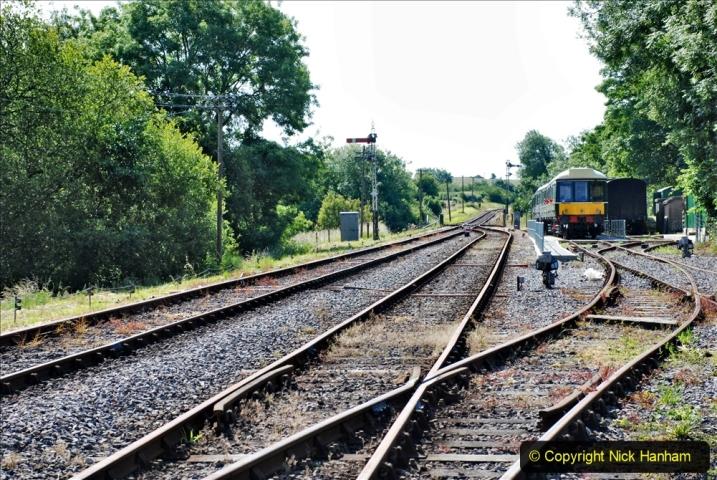2020-06-23 Swanage Railway still in lockdown. (65) Corfe Castle. 065