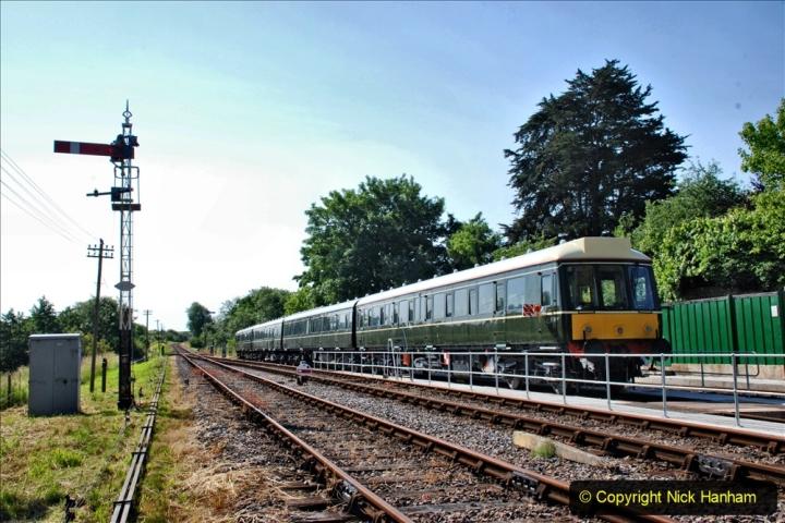2020-06-23 Swanage Railway still in lockdown. (66) Corfe Castle. 066