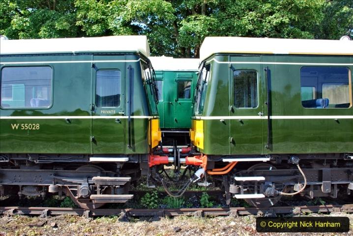 2020-06-23 Swanage Railway still in lockdown. (68) Corfe Castle. 068