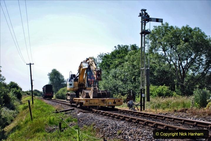 2020-06-23 Swanage Railway still in lockdown. (71) Corfe Castle. 071