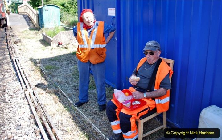 2020-06-23 Swanage Railway still in lockdown. (74) Corfe Castle. 074