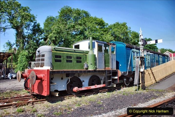 2020-06-23 Swanage Railway still in lockdown. (75) Corfe Castle. 075