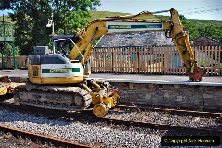 2020-06-23 Swanage Railway still in lockdown. (78) Corfe Castle. 078