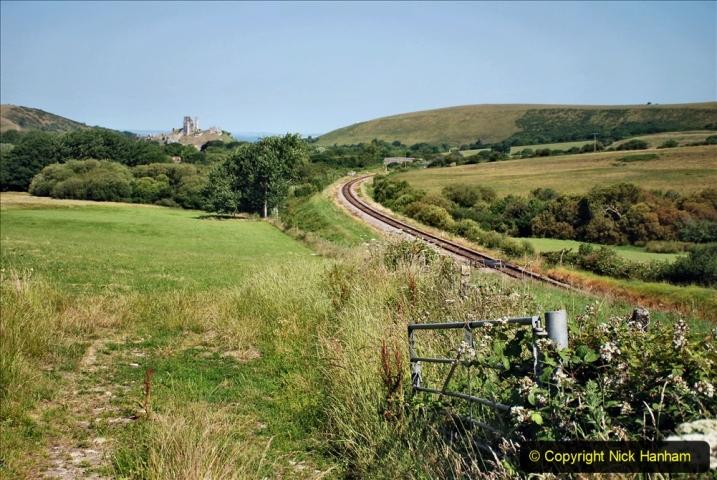 2020-06-23 Swanage Railway still in lockdown. (80) Aflington. 080