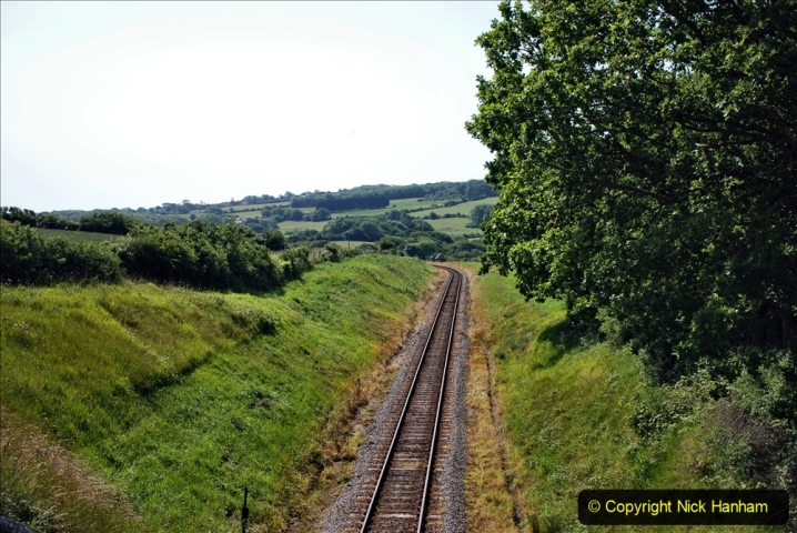 2020-06-23 Swanage Railway still in lockdown. (82) Aflington. 082