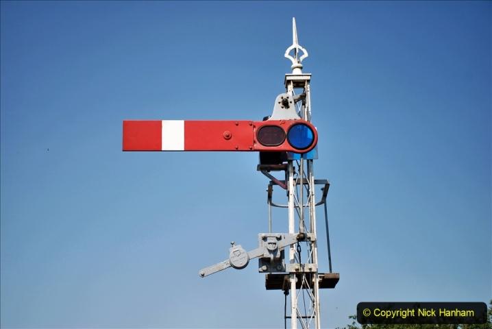 2020-06-23 Swanage Railway still in lockdown. (92) Harmans Cross. 092