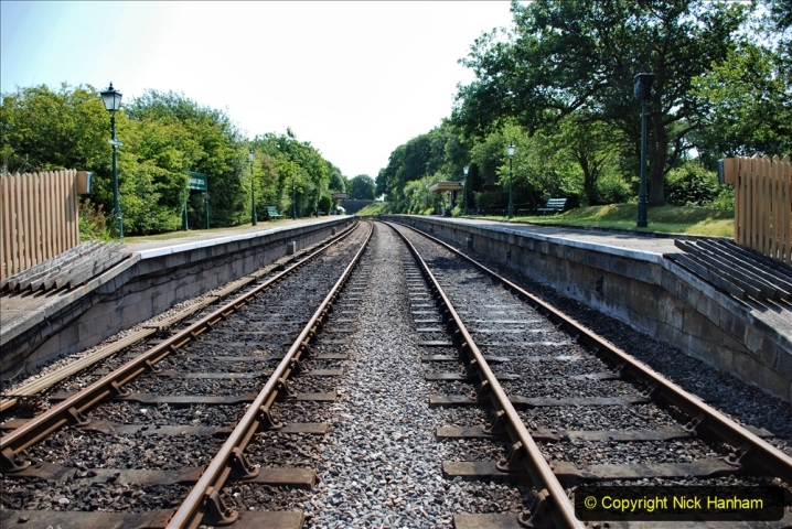 2020-06-23 Swanage Railway still in lockdown. (93) Harmans Cross. 093