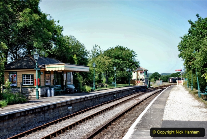 2020-06-23 Swanage Railway still in lockdown. (96) Harmans Cross. 096