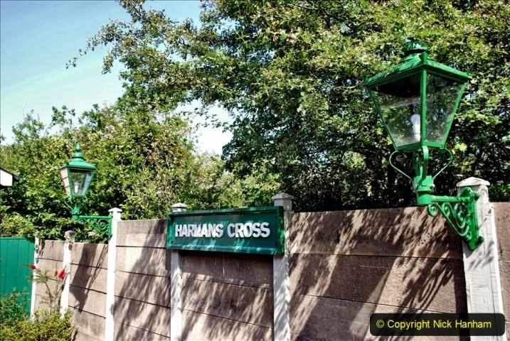 2020-06-23 Swanage Railway still in lockdown. (98) Harmans Cross. 098