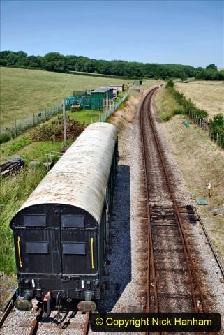 2020-06-23 Swanage Railway still in lockdown. (105) Herston. 105