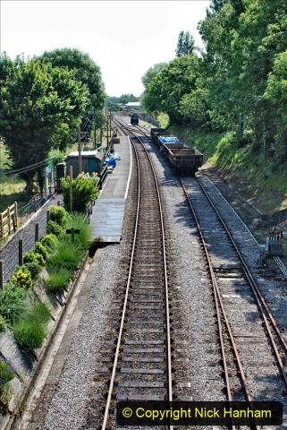2020-06-23 Swanage Railway still in lockdown. (106) Herston. 106