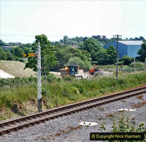 2020-06-23 Swanage Railway still in lockdown. (109) Herston. 109