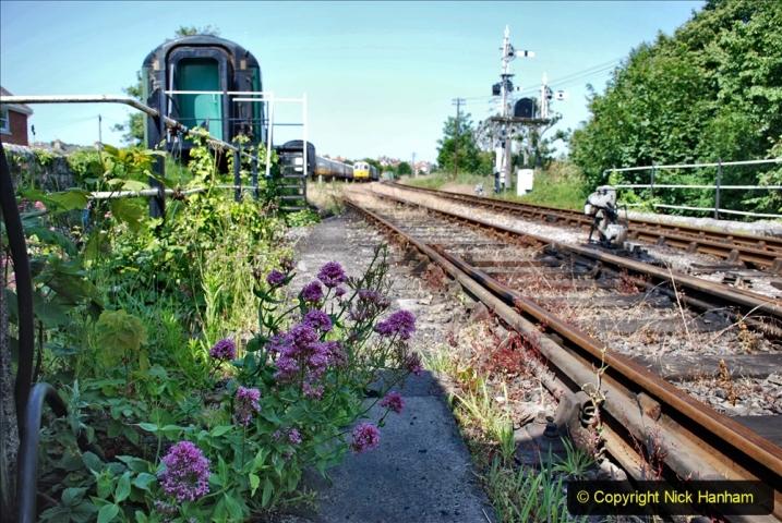 2020-06-23 Swanage Railway still in lockdown. (118) Swanage. 118