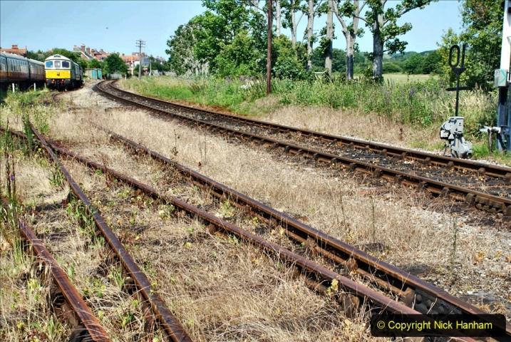 2020-06-23 Swanage Railway still in lockdown. (119) Swanage. 119