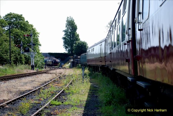 2020-06-23 Swanage Railway still in lockdown. (121) Swanage. 121