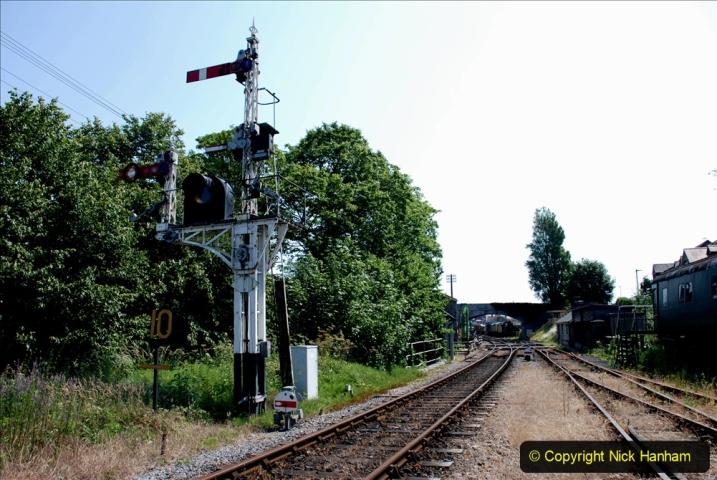2020-06-23 Swanage Railway still in lockdown. (123) Swanage. 123