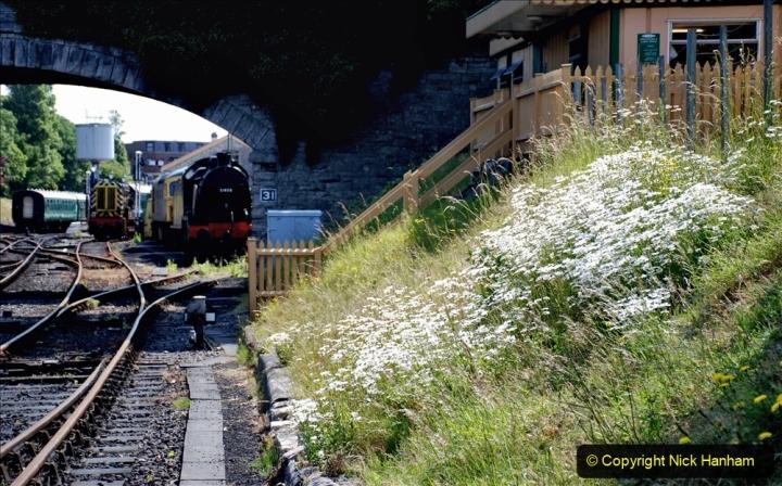 2020-06-23 Swanage Railway still in lockdown. (124) Swanage. 124