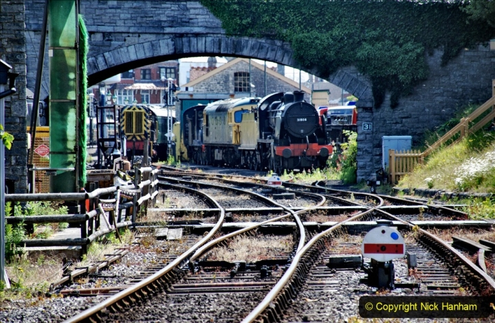2020-06-23 Swanage Railway still in lockdown. (125) Swanage. 125