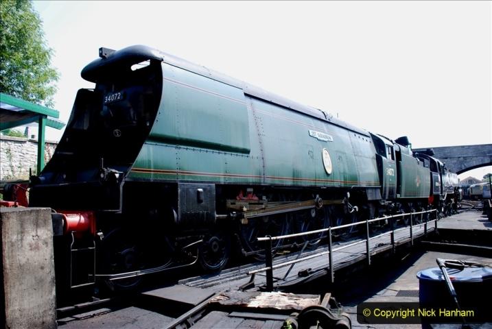 2020-06-23 Swanage Railway still in lockdown. (126) Swanage. 126
