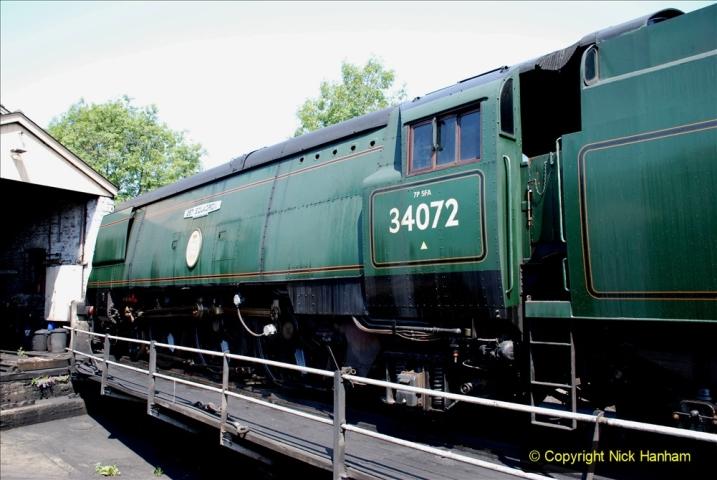 2020-06-23 Swanage Railway still in lockdown. (127) Swanage. 127