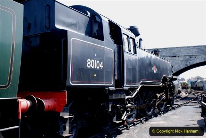2020-06-23 Swanage Railway still in lockdown. (128) Swanage. 128