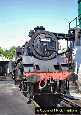 2020-06-23 Swanage Railway still in lockdown. (129) Swanage. 129