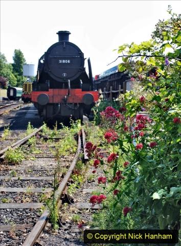 2020-06-23 Swanage Railway still in lockdown. (130) Swanage. 130