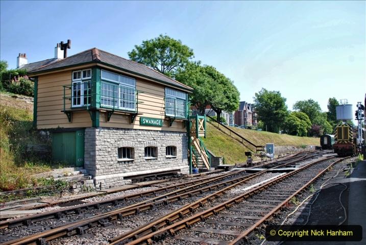 2020-06-23 Swanage Railway still in lockdown. (131) Swanage. 131