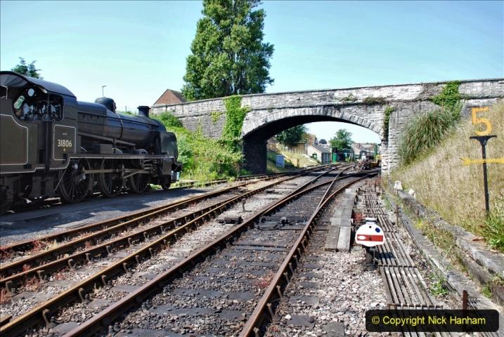 2020-06-23 Swanage Railway still in lockdown. (132) Swanage. 132