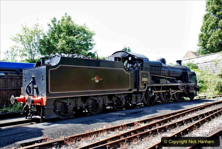 2020-06-23 Swanage Railway still in lockdown. (133) Swanage. 133