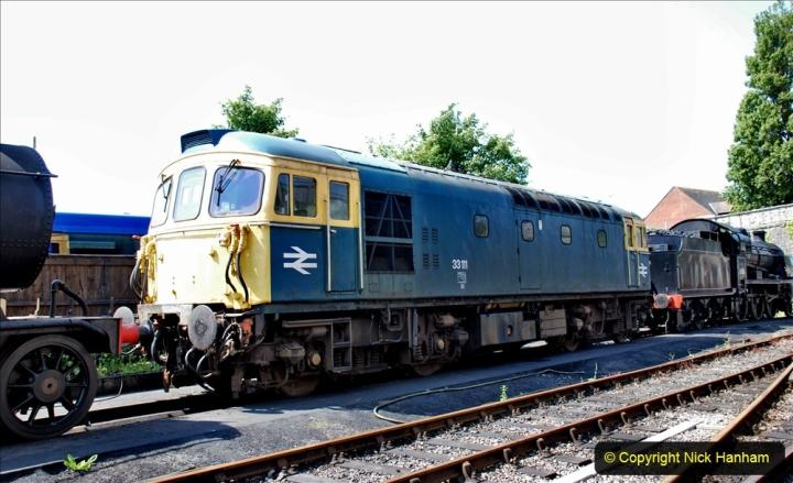 2020-06-23 Swanage Railway still in lockdown. (134) Swanage. 134