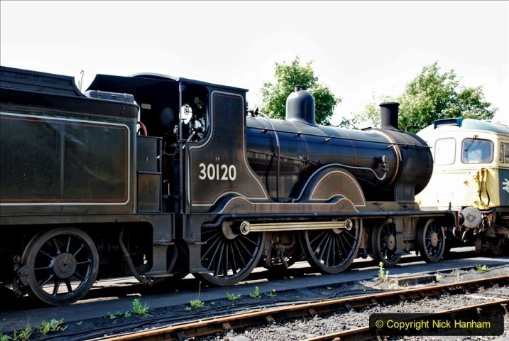 2020-06-23 Swanage Railway still in lockdown. (135) Swanage. 135
