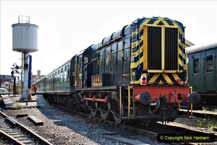 2020-06-23 Swanage Railway still in lockdown. (136) Swanage. 136