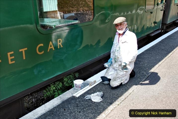 2020-06-23 Swanage Railway still in lockdown. (137) Swanage. 137