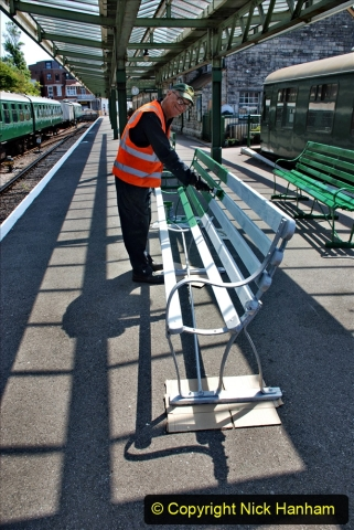 2020-06-23 Swanage Railway still in lockdown. (139) Swanage. 139